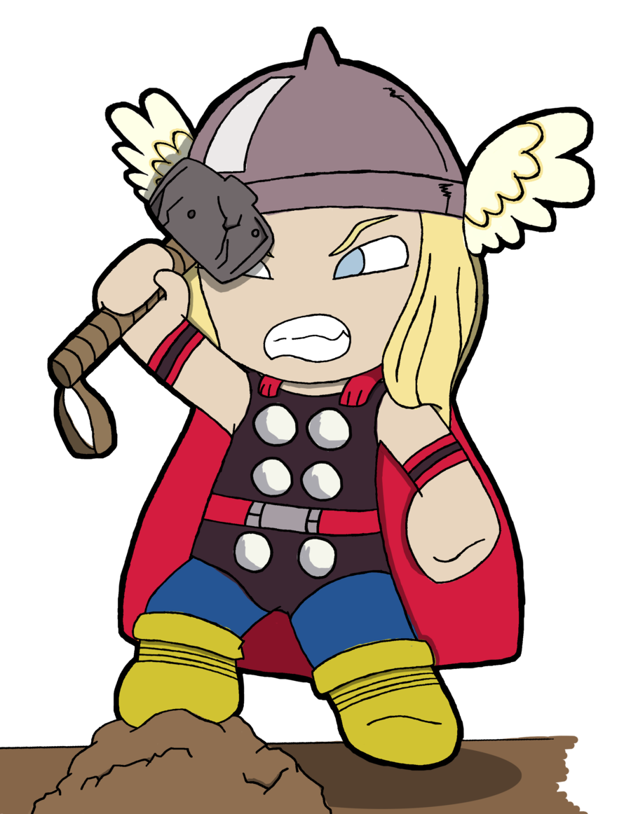 900x1162 Thor Chibi By Valiskofdarknes.png Chibi