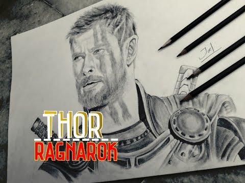 480x360 Draw Thor Ragnarok 2017
