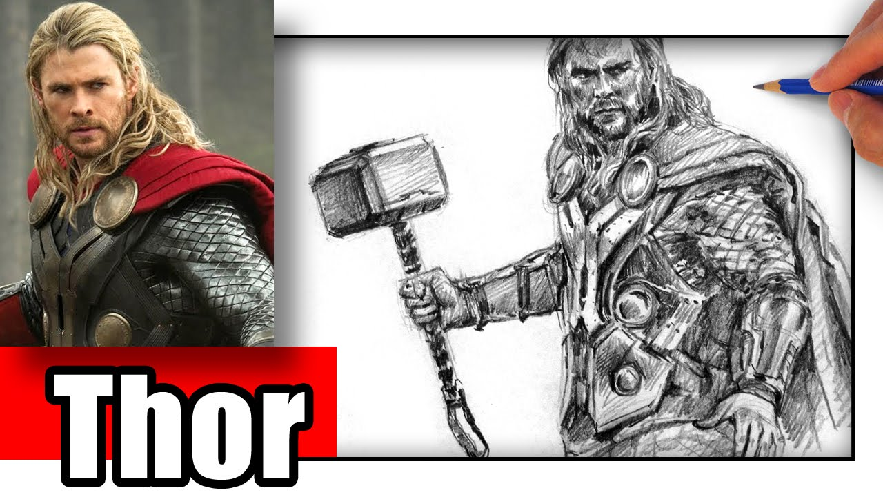 1280x720 How To Draw Thor
