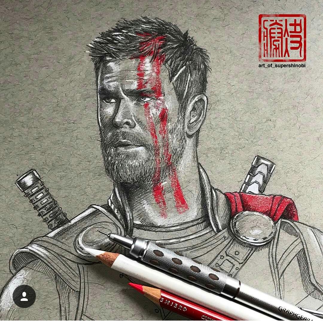 1080x1080 Thor Is So Cute Here) Revengers Thor, Marvel