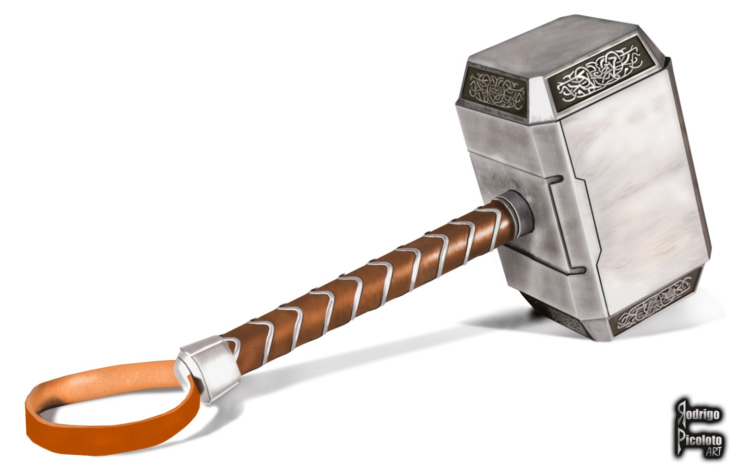 1500x960 Drawing Thor's Hammer In Photoshop