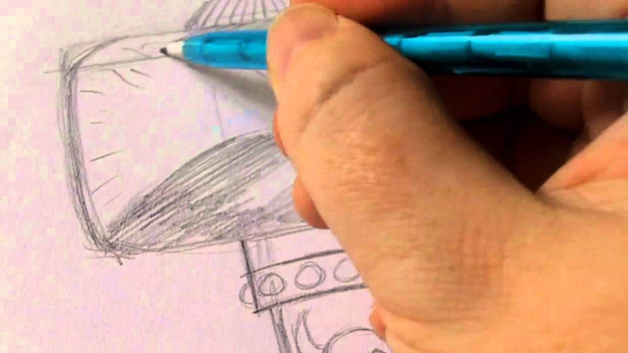 1280x720 How To Draw Thors Hammer