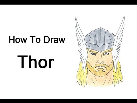 480x360 How To Draw Thor