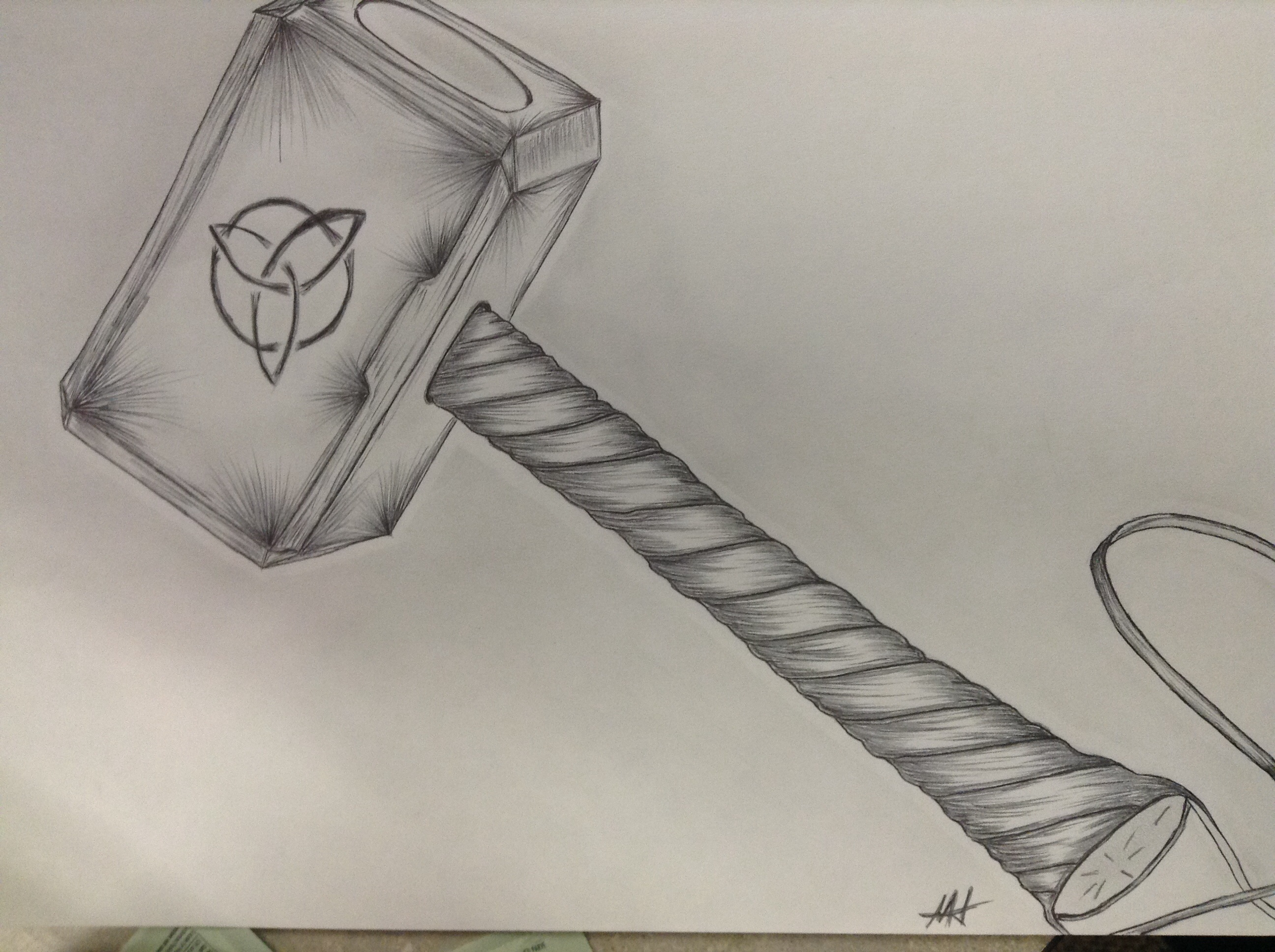 2592x1936 Thor's Hammer My Drawings Tattoo, Drawings