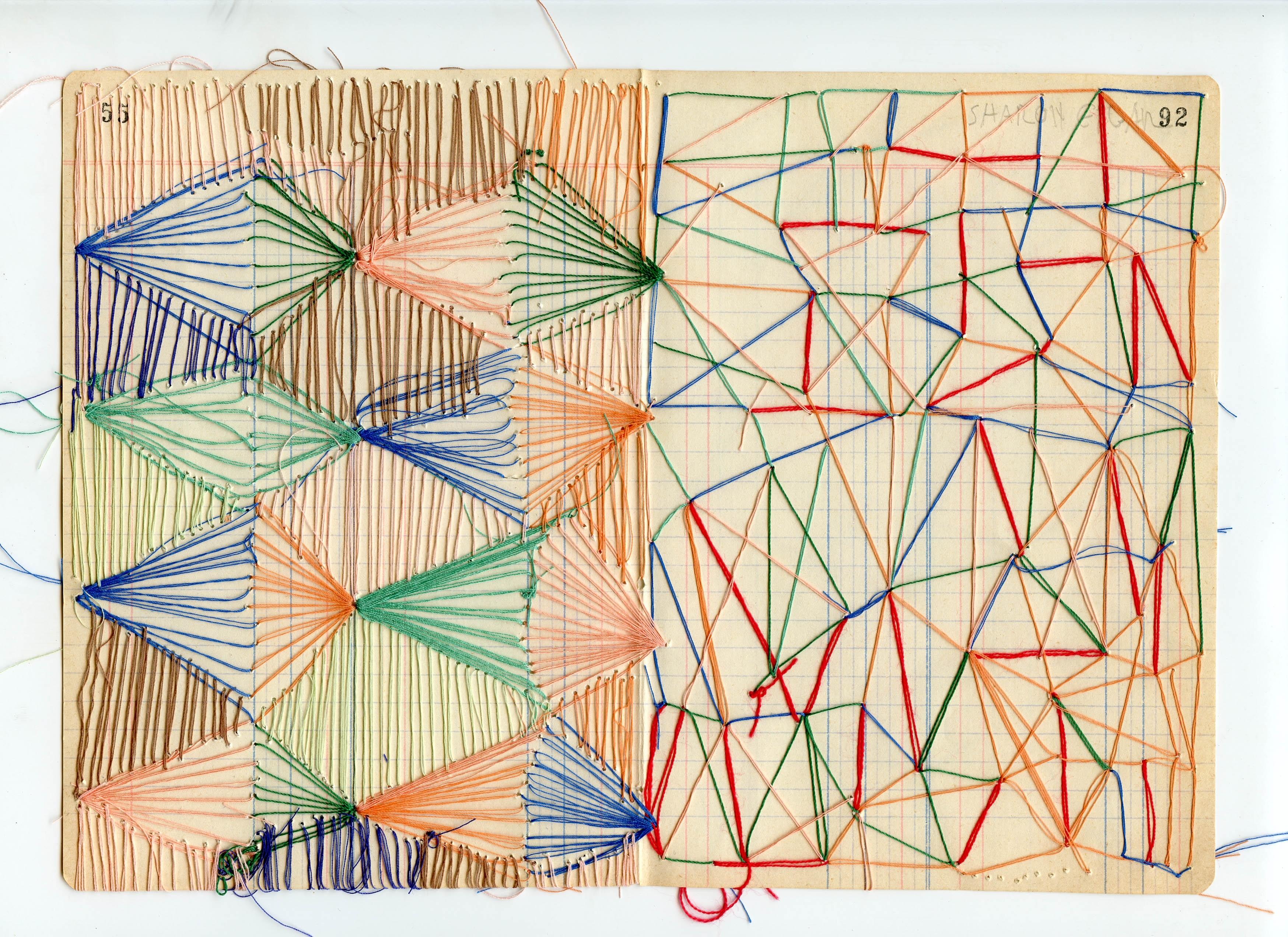 3496x2543 Untitled Thread Drawing By Sharon Etgar On Artnet