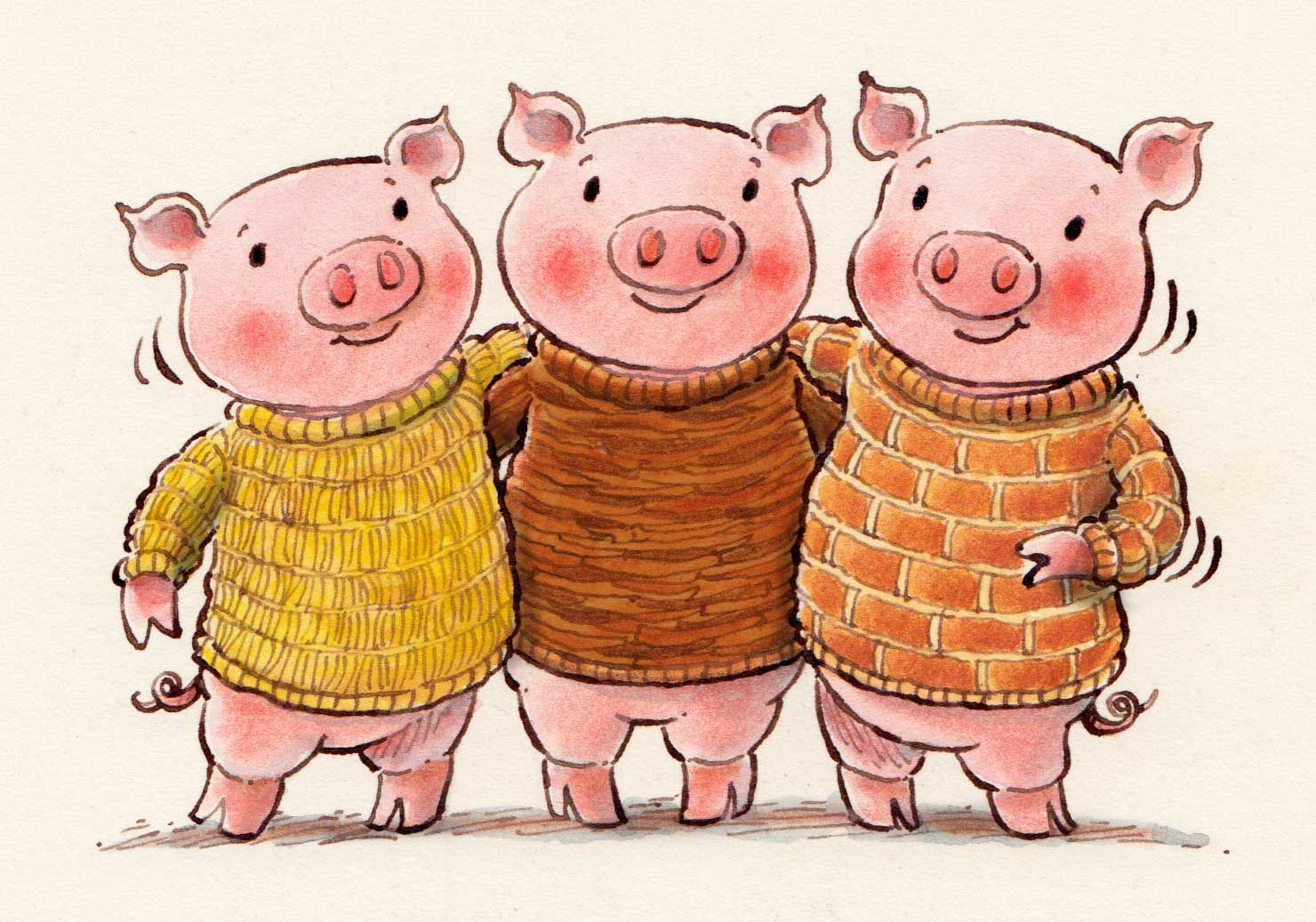 three little pigs drawing at getdrawings com free for personal use rh getdrawings com three little pigs houses clipart 3 little pigs clipart free
