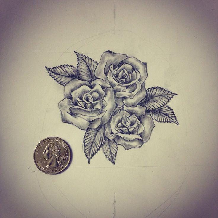 Three Roses Drawing at GetDrawings   Free download