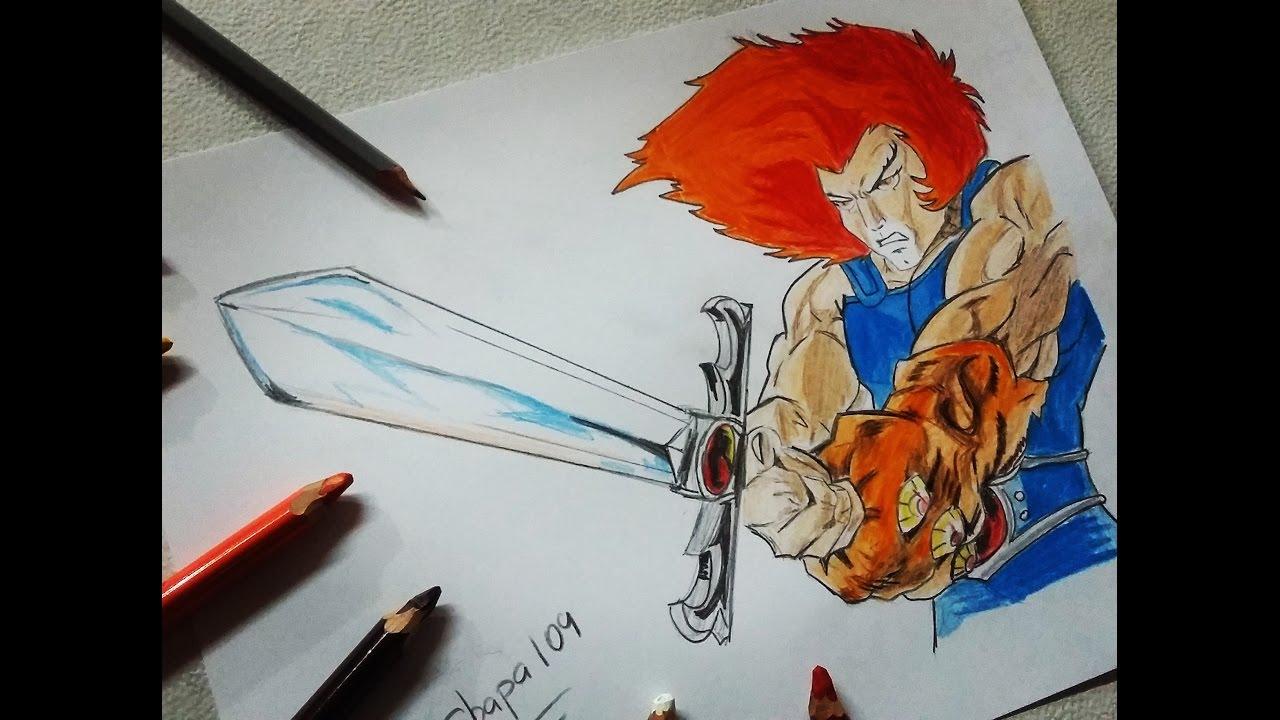 1280x720 Dibujo De Leon O Thundercats Drawing Lion O Thundercats