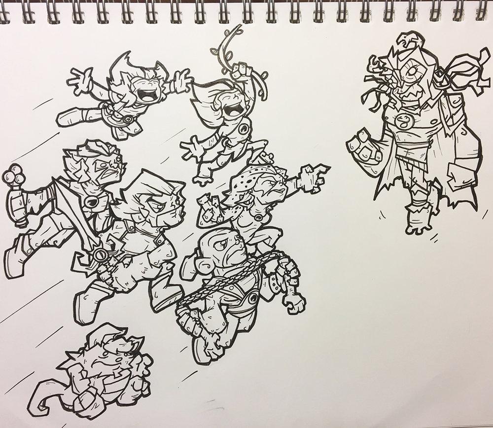 1000x868 Instagram Drawing Requests Ii Six Am Comics