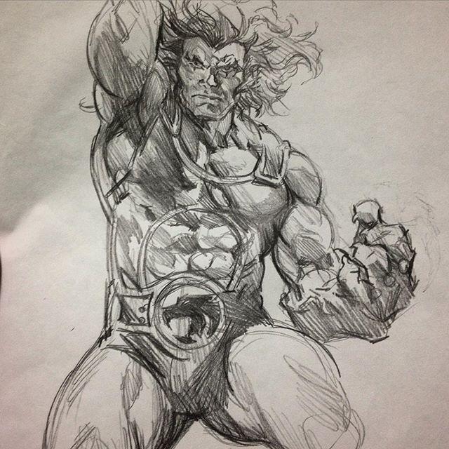 640x640 Lion O Sketch By Felipe Massafera