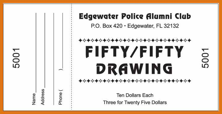 ticket drawing template at getdrawings com free for personal use
