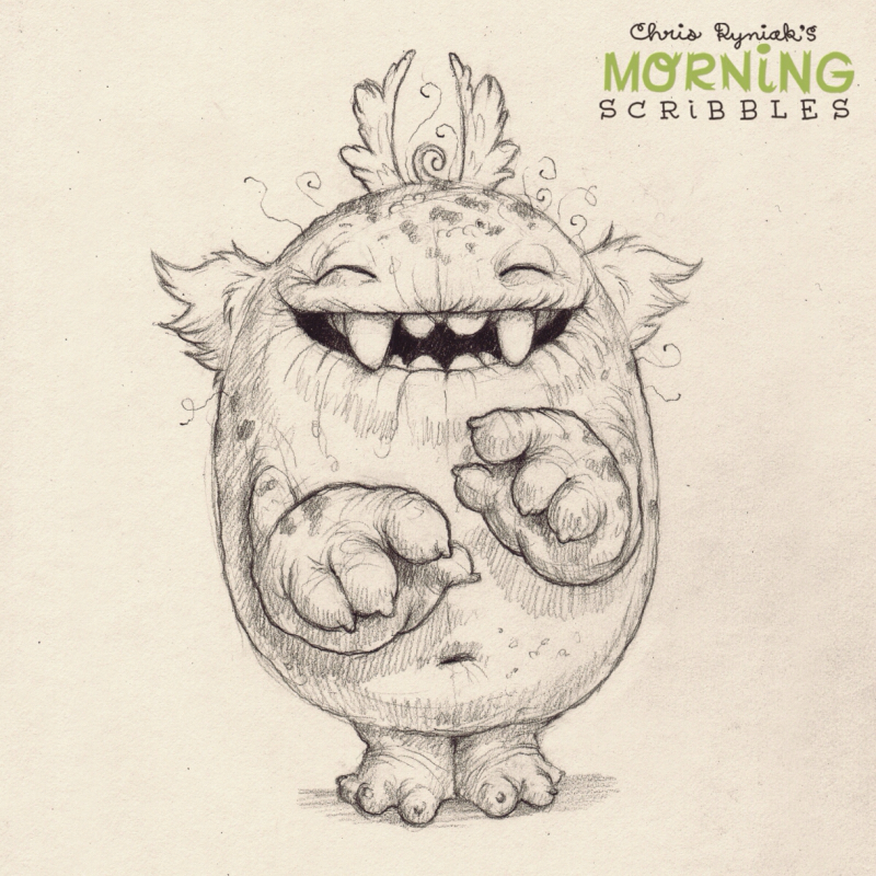 800x800 Morning Scribbles Morning Scribbles Monsters, Draw