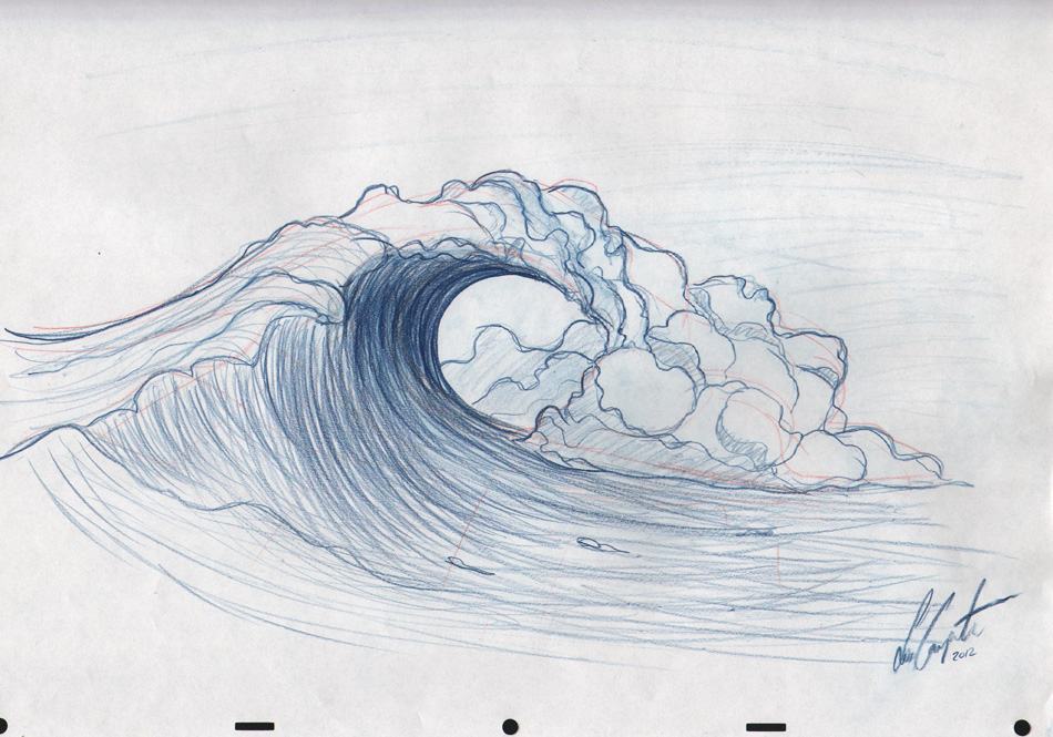 950x665 Drawn Wave Tidal Wave