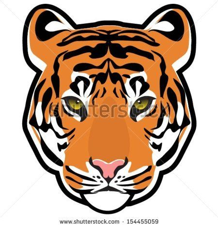 tiger cartoon drawing at getdrawings com free for personal use rh getdrawings com cartoon tiger face paint cartoon tiger face outline