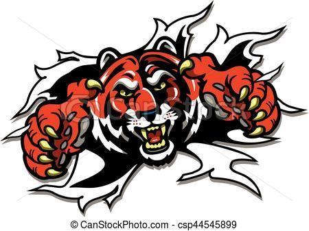 450x337 Beautiful 24 Tiger Claw Clipart