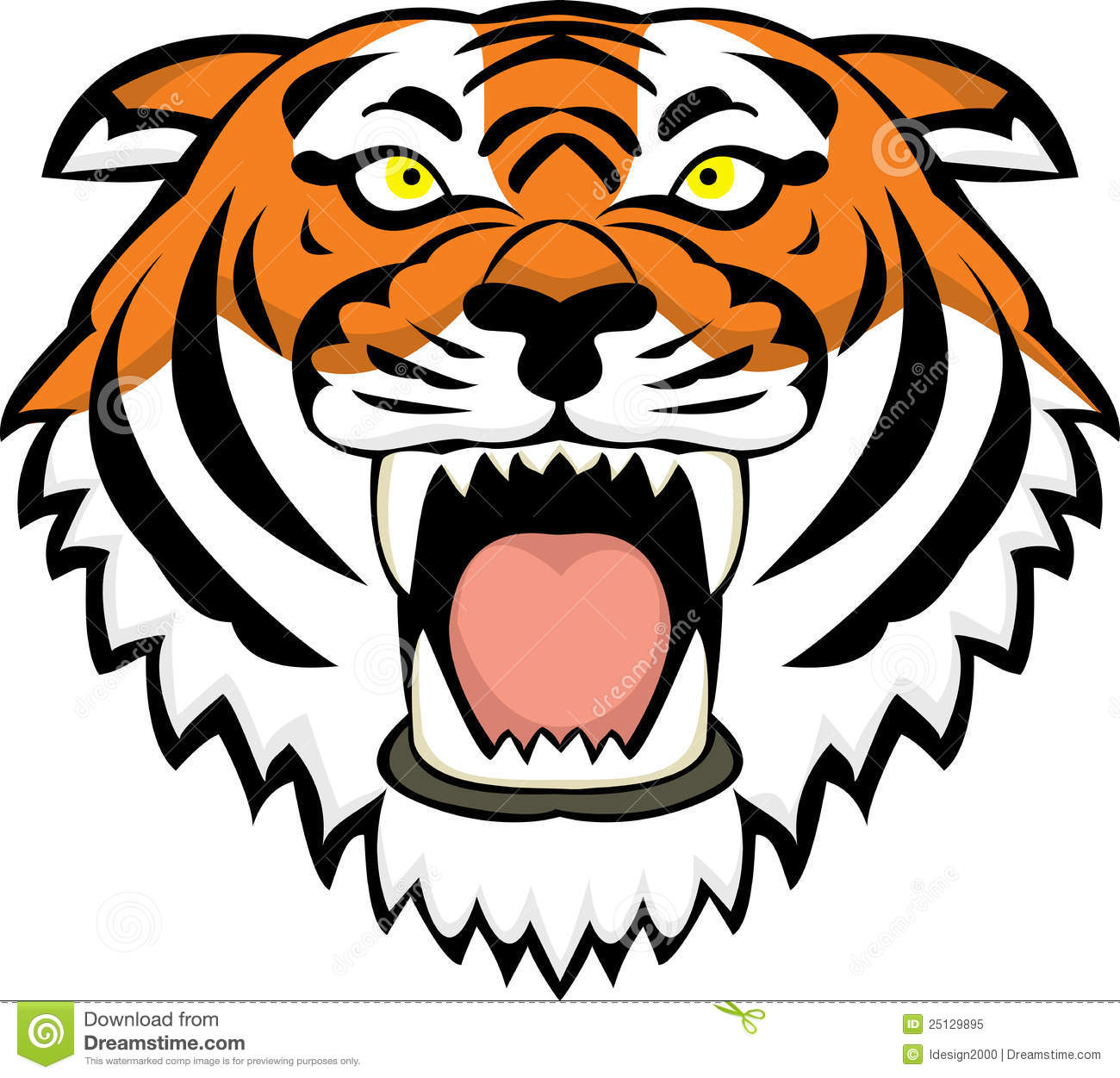 tiger drawing cartoon at getdrawings com free for personal use rh getdrawings com cartoon tiger face pictures cartoon tiger face images