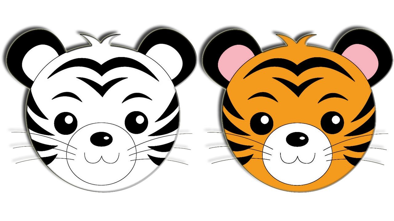 tiger drawing cartoon at getdrawings com free for personal use rh getdrawings com cartoon tiger face images cartoon tiger face drawing