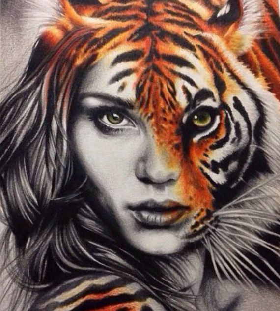Tiger Drawing Tattoo At Getdrawings Com Free For Personal Use