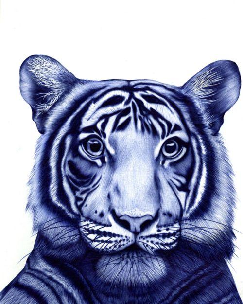 500x625 By Sarah Esteje Animal Love Drawings, Bic Pens