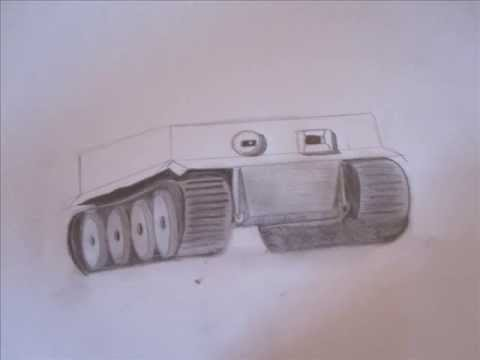 480x360 How To Draw Military Vehicles Wwii Tiger Tank