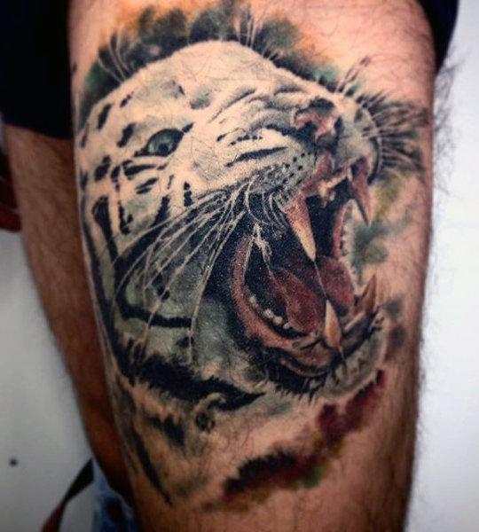 Tiger Tattoo Drawing At Getdrawings Com Free For Personal Use