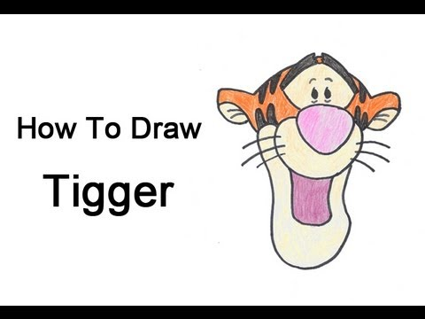 480x360 How To Draw Tigger
