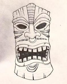 236x295 Burning Tiki Head Tiki Tiki Head And Hearths