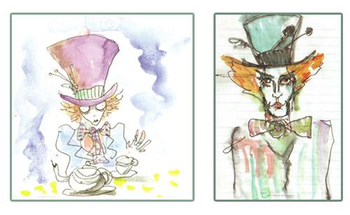 500x308 Google Wasuw Johnny Depp Mad Hatter Sketch