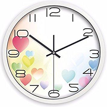 355x355 Creative Fashionable Individual Continental Idyllic Quartz Clock