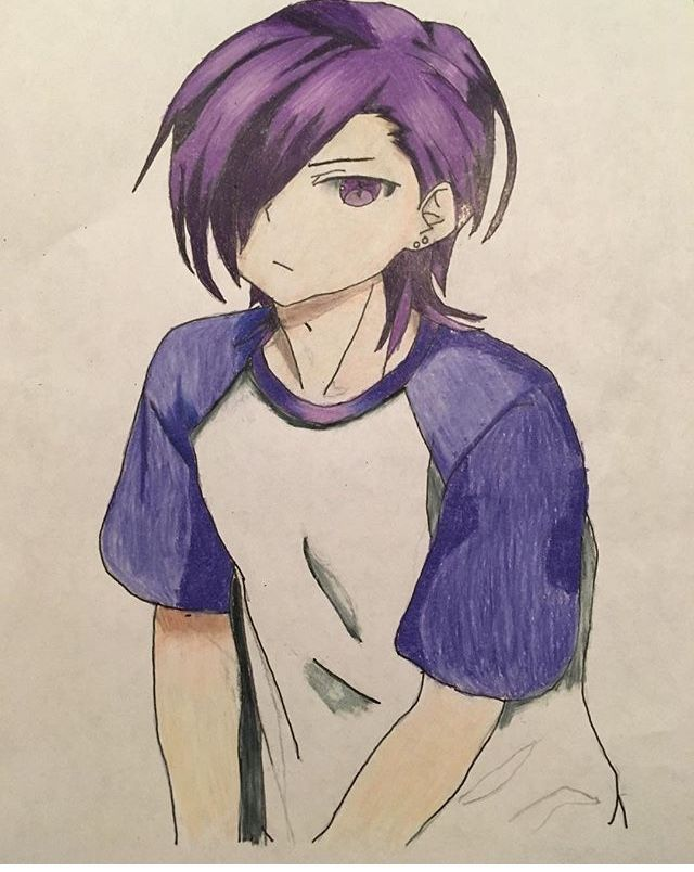 640x804 My Drawing Of Lucifer From The Devil Is A Part Timer Anime