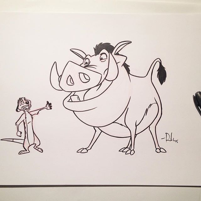 640x640 Image Result For Timon And Pumba Sketches Lion King Disney