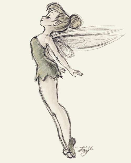Tinker Bell Drawing At Getdrawings Free Download