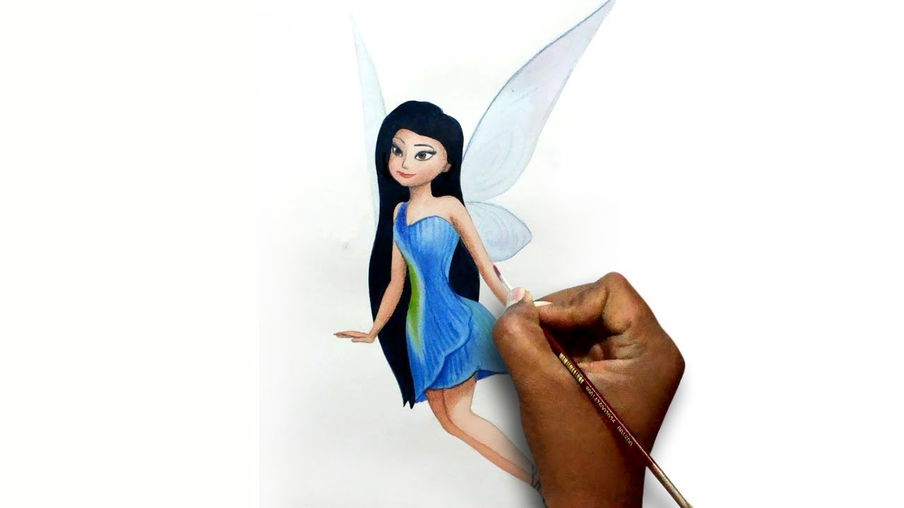 1280x720 How To Draw Tinker Bell And The Pirate Fairy Silvermist