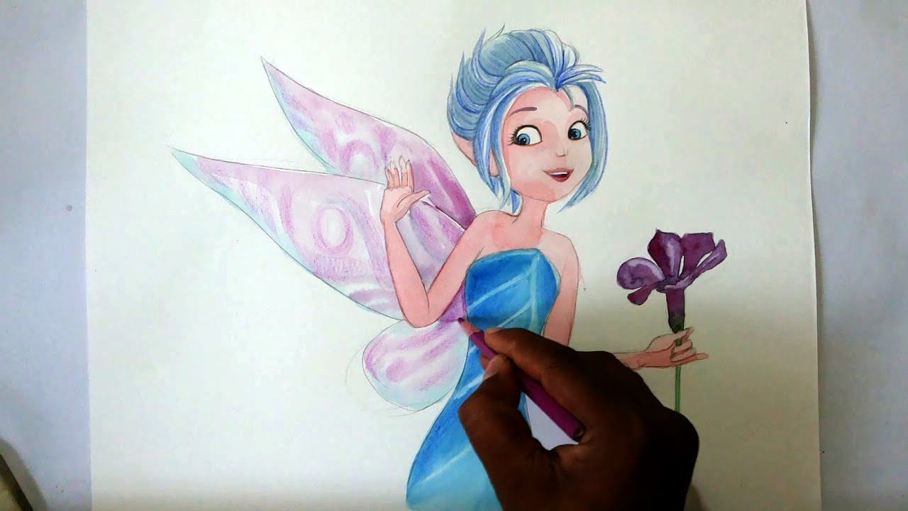 1280x720 How To Draw Fairy Periwinkle