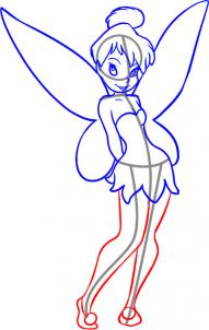 191x302 How To Draw How To Draw Tinkerbell
