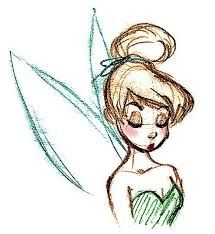 215x234 Pictures Of Tinker Bell Drawings How To Draw Tinkerbell Easy