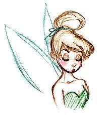 220x229 Tumblr Drawings Easy Tinkerbell