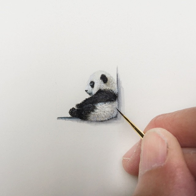 640x640 Unbelievably Tiny Paintings By Karen Libecap Paintings, Drawings