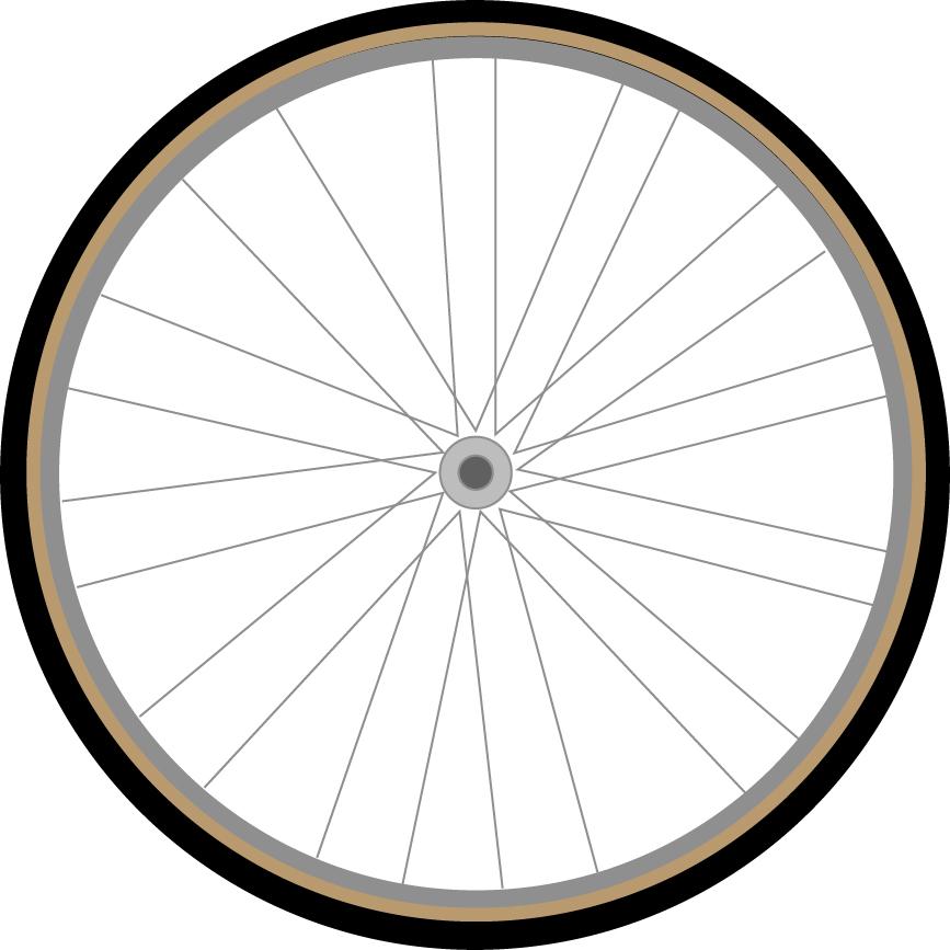 867x867 Digital Drawing Bike Tire