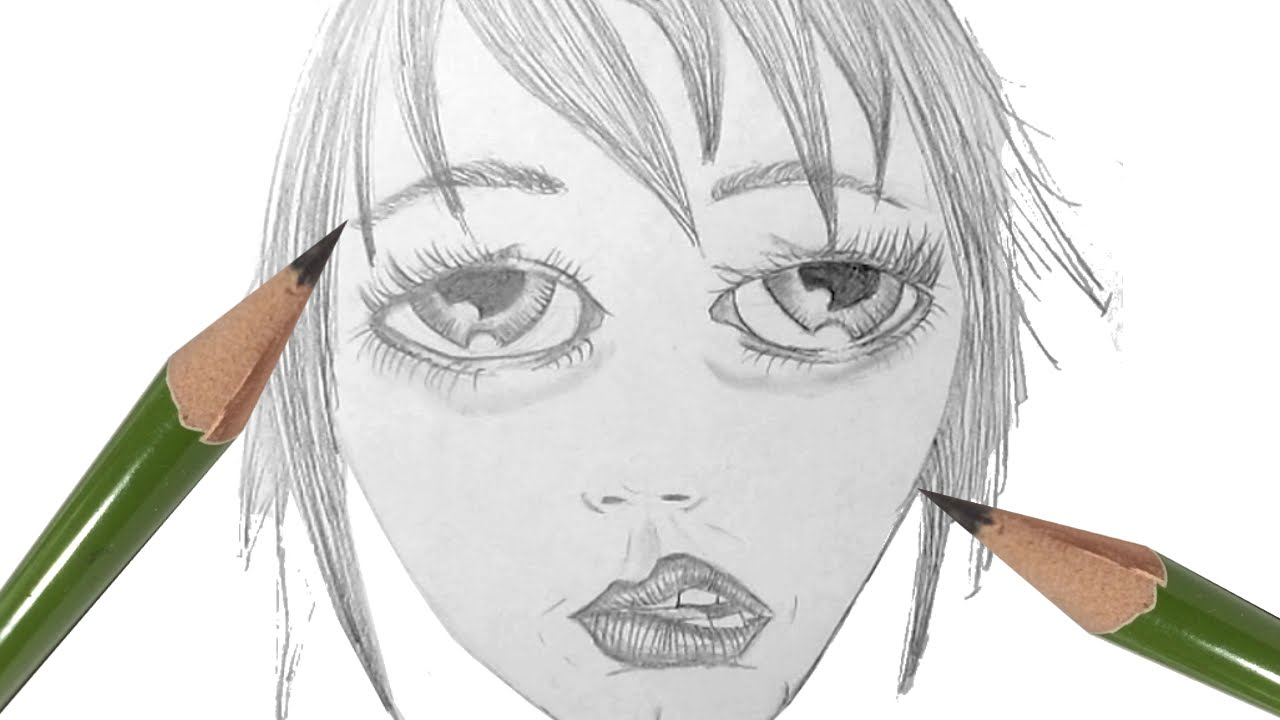 1280x720 How To Draw A Girl With A Tired Expression