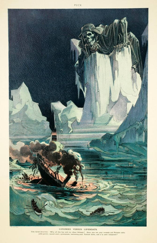 670x1036 9 Titanic Drawings That Inspire Fear Part Two