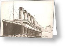 226x170 Titanic Drawing Canvas Print Canvas Art By Robert Crandall