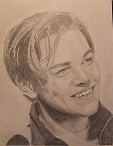 232x300 Titanic, Leo Dicaprio Aka Jack Dawson Drawing, Artist, Celebrities