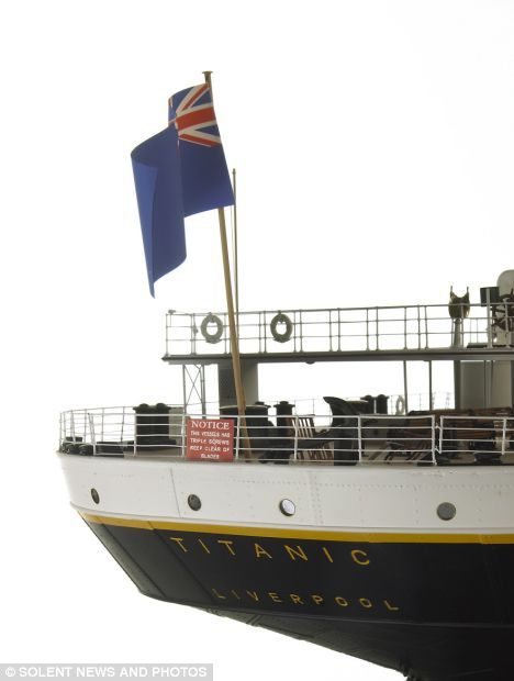 468x620 First Model Of The Titanic Built From Ship's Original Plans Will
