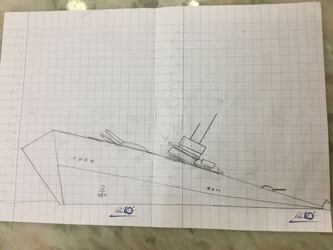 Drawing Lines In Visio : Titanic ship drawing at getdrawings free for personal use