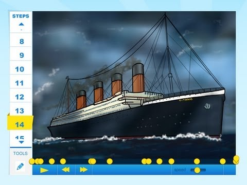 480x360 How To Draw A Ship From The Movie Titanic 3d