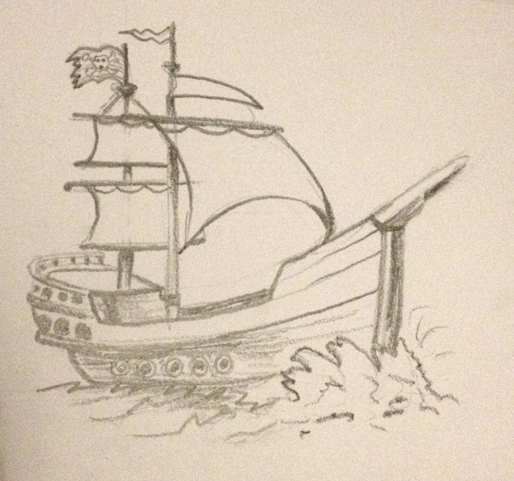 1024x957 Titanic Ship Ki Pencil Sketch Drawing Photo Pencil Sketch Of Ship
