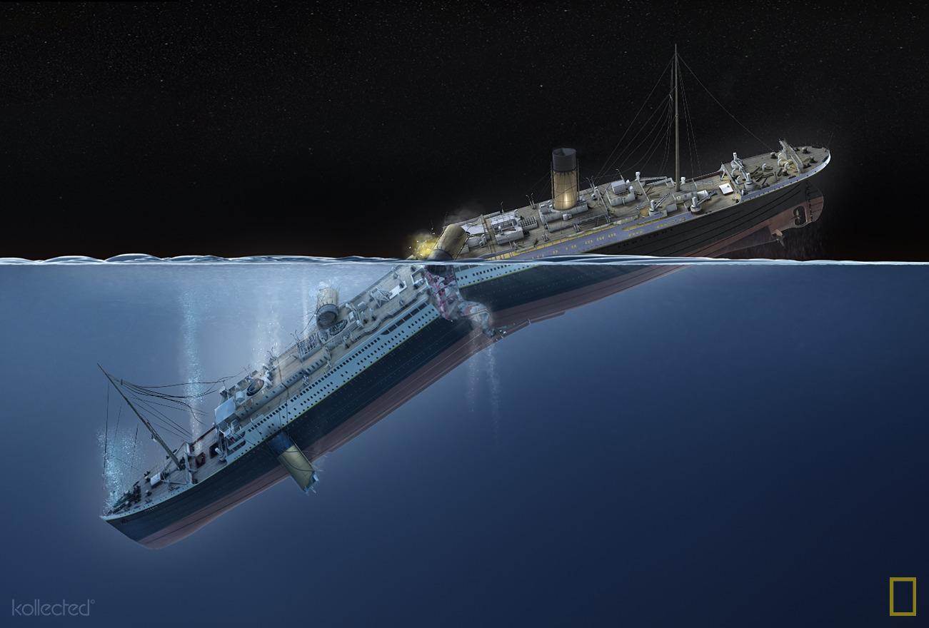 Titanic Kitchen Sinks