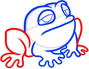 302x234 How To Draw How To Draw A Toad For Kids