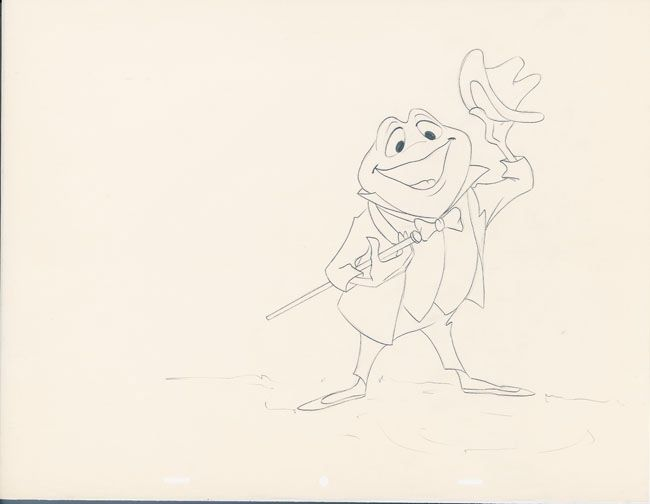 650x504 Merchandising Drawing Of Toad In Wind In The Willows Segment